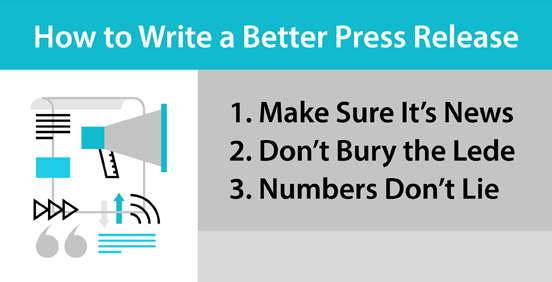 How to Write a Better Press Release: A (Former) Reporter's Perspective